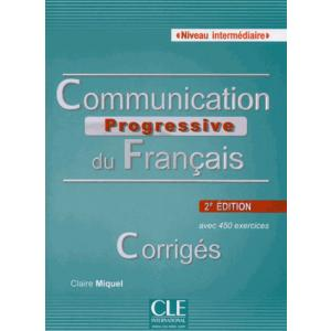 Communication Progressive du Francais Intermediaire 2 edition klucz