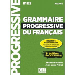 Grammaire Progressive du Francais Niveau Avance 3e Edition. Podręcznik + CD