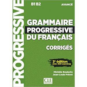 Grammaire Progressive du Francais Niveau Avance. 3e Edition. Klucz Odpowiedzi