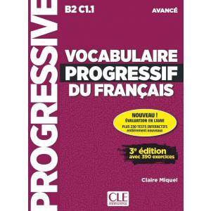 Vocabulaire Progressif du Francais Avance. 3e Edition. Książka + CD