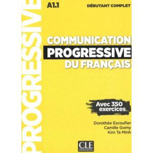 Communication Progressive du Francais Debutant Complet 3Ed+ CD MP3