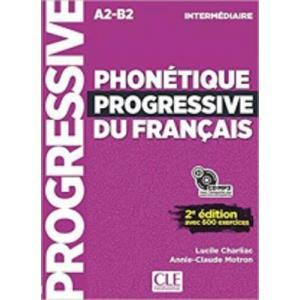 Phonetique progressive du Francais Intermediaire A2-B2 2 edition książka + CD