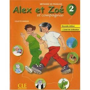 Alex et Zoe 2. Podręcznik + CD