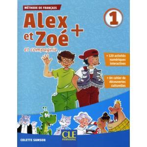 Alex et Zoe Plus 1. Podręcznik + MP3