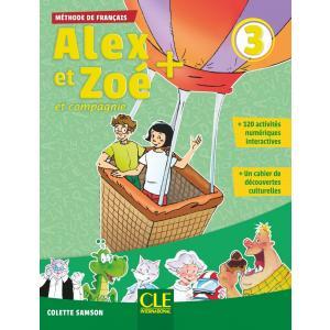 Alex et Zoe Plus 3. Podręcznik + MP3