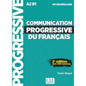 Communication Progressive Du Francais. Niveau Intermediaire. 2e Edition. Podręcznik + CD