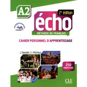 Echo A2 2ed. ćwiczenia + CD