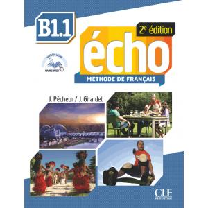 Echo B1.1 2ed. podręcznik + CD