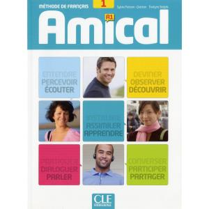 Amical 1 podręcznik + Audio CD