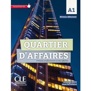 Quartier D'Affaires A1. Podręcznik + CD