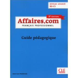 Affaires.com Avance 3e Edition. Książka Nauczyciela