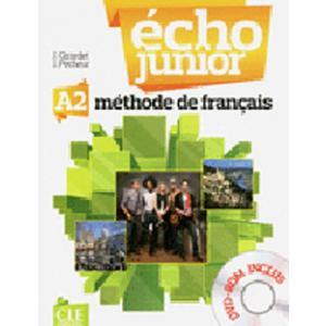 Echo Junior A1. Język francuski. Podręcznik + DVD
