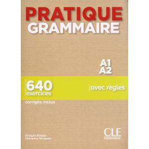Pratique grammaire A1/A2 podręcznik + klucz