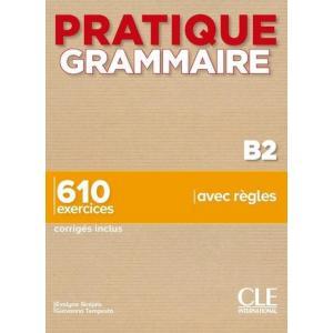 Pratique grammaire B2 książka + klucz