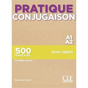 Pratique conjugaison A1/A2 książka + klucz