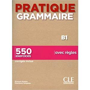 Pratique grammaire B1 + klucz 2 ed