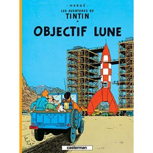 LF Herge. Tintin Objectif Lune /komiks/