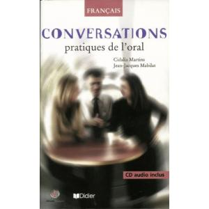 Conversations pratiques de l'oral książka + CD