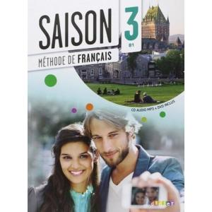 Saison 3 podręcznik + płyta CD audio i płyta DVD