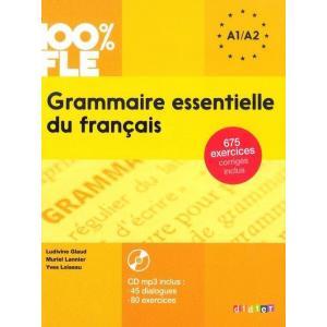 Grammaire Essentielle du Francais + CD. Poziom A2