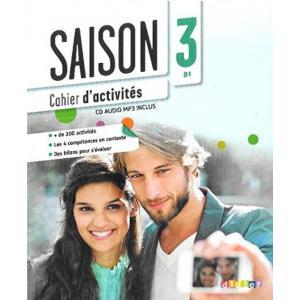Saison 3. Ćwiczenia + CD