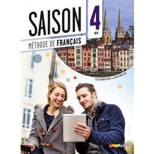 Saison 4. Podręcznik + CD. Poziom B2