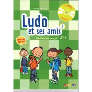 Ludo et ses amis 2 A1.2 Nouvelle podręcznik + CD audio