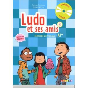 Ludo et ses amis 3 A1+ Nouvelle podręcznik + CD audio