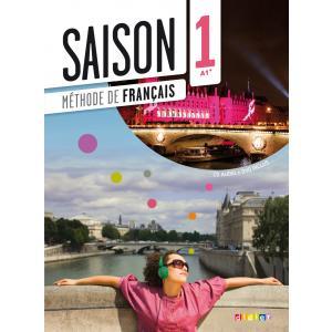 Saison 1 podręcznik + płyta CD i płyta DVD