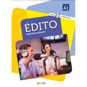 Edito A1 podręcznik + CD/MP3+DVD