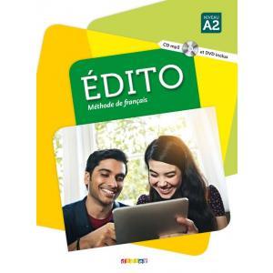Edito A2 podręcznik + CD + DVD (2016)