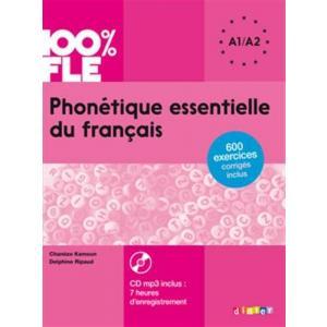 Phonetique Essentielle du Francais + CD. Poziom A1/A2