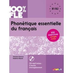 Phonetique Essentielle du Francais + MP3. Poziom B1/B2