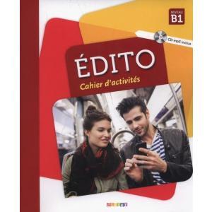 Edito B1 Ćwiczenia + CD /2018/