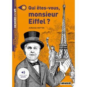 Qui etes vous monsieur Eiffel książka + audio online A1