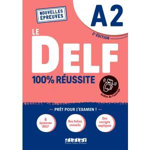 DELF A2 100% reussite podręcznik + zawartość online Nowa formuła 2021