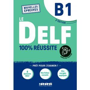 DELF B1 100% reussite podręcznik + zawartość online Nowa formuła 2021