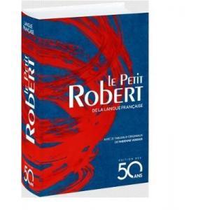 Le Petit Robert edition 2018