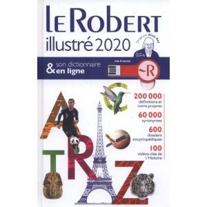 Le Robert illustre 2020 + klucz słownika internetowego