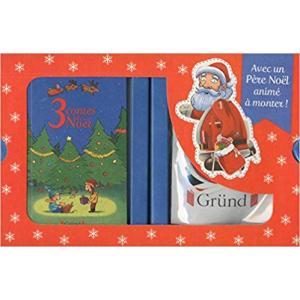 LF Mon coffret de Noel /3 bajki o świętach + Mikołaj do złożenia/