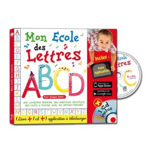 LF Mon ecole des lettres książka + CD + dostęp online /do nauki alfabetu/