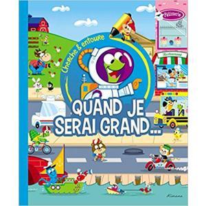LF Quand je serai grand /słowniczek obrazkowy, o pracy i zawodach/
