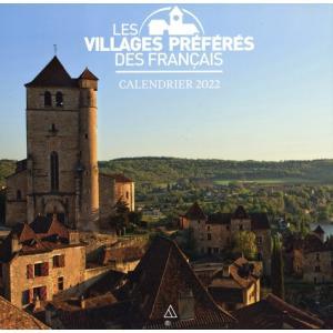 Calendrier mural - le village prefere des Francais 2022 Kalendarz ścienny