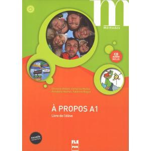 A propos A1 podręcznik + CD