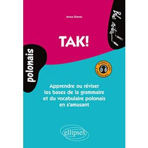 TAK Apprendre ou reviser + audio online (język polski dla Francuzów)