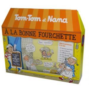 LF Tom Tom et Nana a la bonne fourchette /karty z przepisami kulinarnymi dla dzieci/