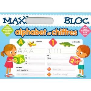 Maxi blox alphabet et chiffres /blok do nauki liter i liczb/
