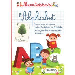 Montessori l'Alphabet (zeszyt do nauki alfabetu)