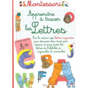 Montessori Aprendre a traces les Lettres /zeszyt do nauki pisania/