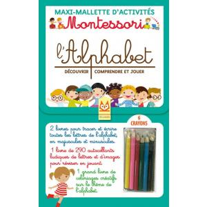 Montessori L'Alphabet Decouvrir, comprendre et jouer /zestaw do nauki alfabetu/